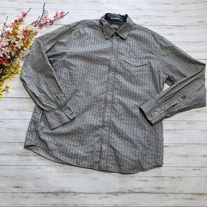 Tommy Bahama Striped Button Down Long Sleeve Shirt